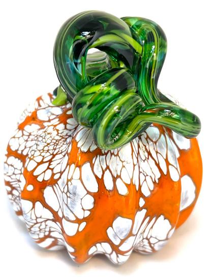 Mini Pumpkin - Orange and Large white Speckles