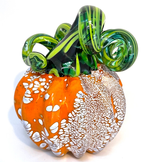 Mini Pumpkin - Orange with Large and Small Speckles