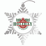 Digistock Brass Etched Ornaments - Custom