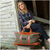 Pine Canyon Leather Duffel