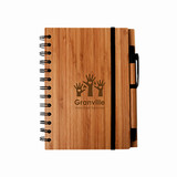 Syracuse Bamboo Cover Notebook