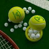 Tennis Ball Mint Container