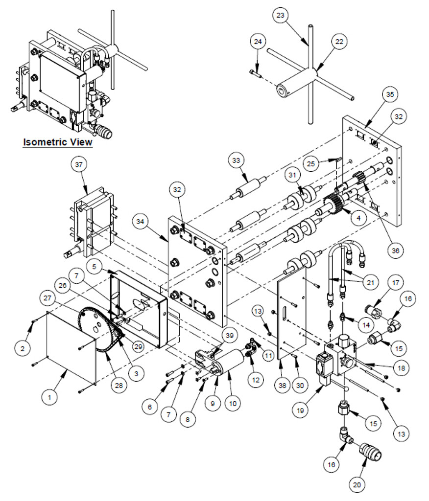 Wacker Trash Pump Parts Diagram