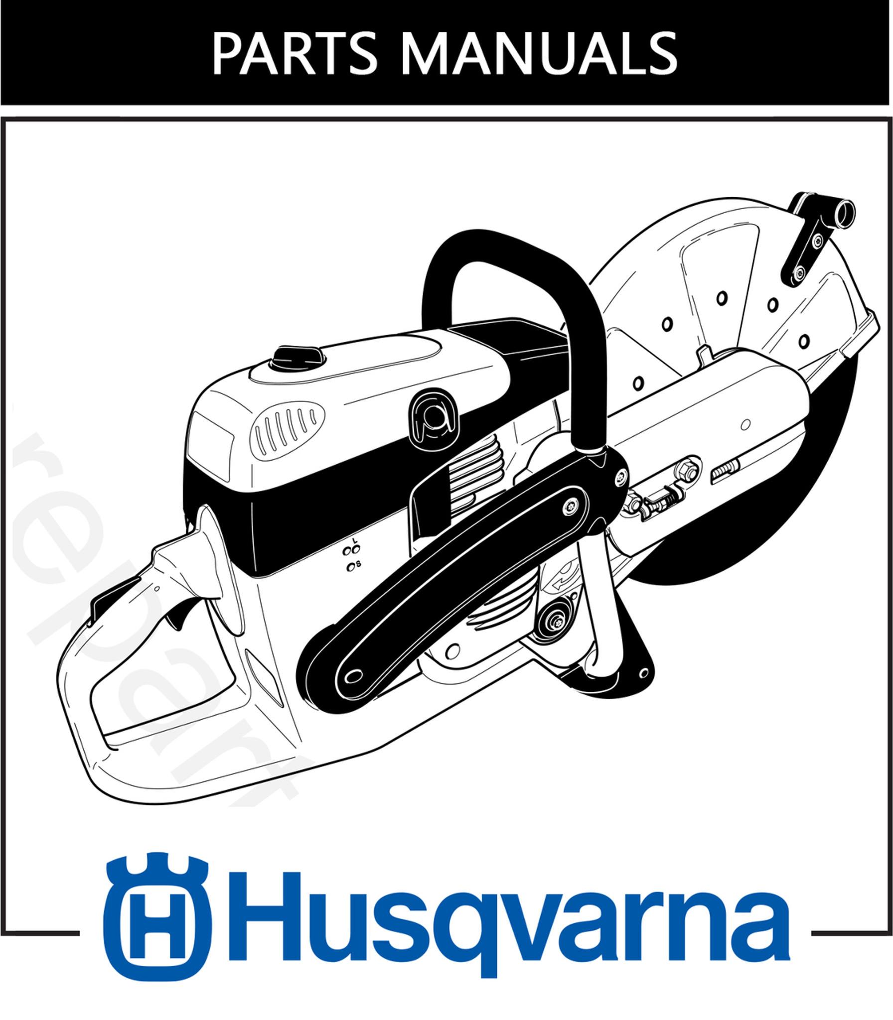 Parts Manual | Husqvarna K760 | Free Download - DHS Equipment