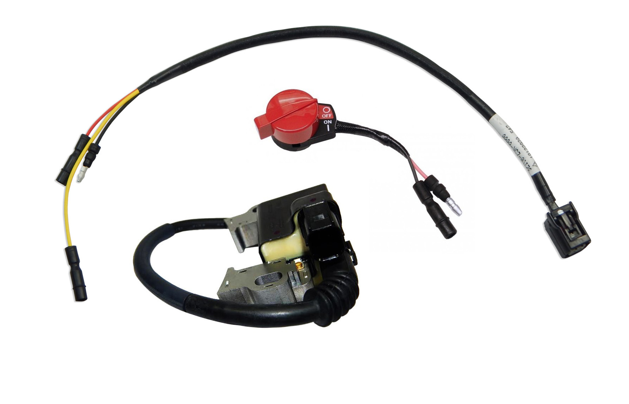 Ignition Coil, Stop Switch, Wiring Harness Kit   GX340, GX390    30500-Z5T-003 - DHS Equipment   Gx390 Wire Harness      DHS Equipment