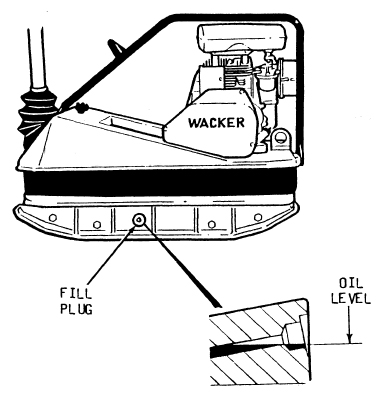 How-to: Wacker BPU3545 Exciter Oil - DHS Equipment