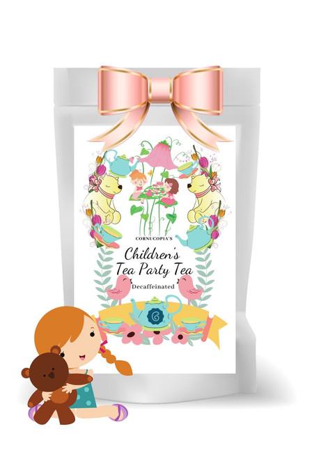 Decaffeinated green tea Strawberry flavor Children's Tea Party Tea
