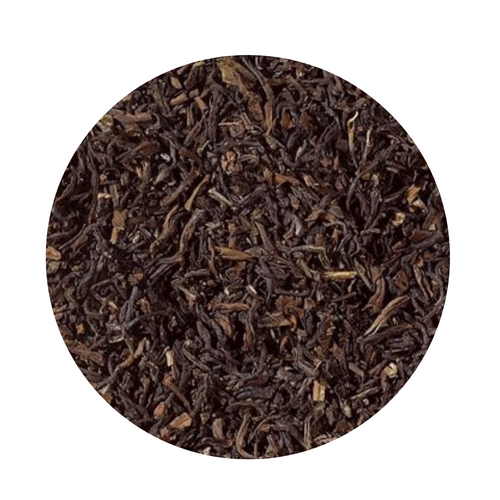 Darjeeling Black Tea (Loose Leaf)  The Happy Valley Teas Estate is located approximately 3 km from the city of Darjeeling. At an altitude of up to 2,750 m this tea garden has a size of 111 hectares. From April to November visitors have the possibility to watch people who pluck the tealeaves and to learn about the processing of tea. It is highly aromatic with a full and shining cup. The leaf is medium-sized and regular with bright tips.   Ingredients: Black tea, from organic cultivation  Brewing:   4-5 minutes  203-212 °F  1-2 level tsp./ 6 oz serving