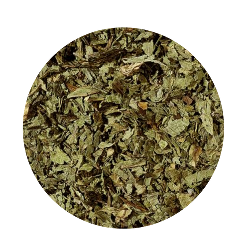 Peppermint Cut (Loose Herb)  The wild growing peppermint, one of innumerable mint varieties, can only be found in Central and Southern Europe. It is cultivated in the entire European and Northern African area today. Peppermint has a pure, refreshing, menthol like character. Due to the cultivation of many different mint varieties over a long period of time, the once original wild growing species has been changed a lot.