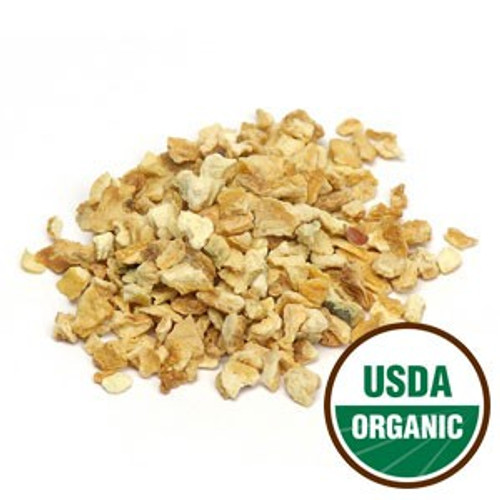 Organic Lemon Peel C/S (loose Herb)  Botanical Name: Citrus Limon  Suggested Use:  Tea blends, Bath tea blends, decorative pieces in soaps, candles.  Important: In Teas, always brew herbal teas with boiling water and let infuse for 5-10 minutes in order to obtain a safe beverage!  Medicinal uses: Organic Lemon Peel, while not tasty on its own, is frequently used more often in medicinal preparations than you previously thought. Lemon Peel contains a great amount of calcium, phosphorus, potassium, ascorbic acid and vitamin A, as well as volatile oil and hesperidin.  Guaranteed to be of the highest quality however, no claims are made about the effectiveness of this or any other wildcrafted herb, root, seed or other botanical extract. Those planning to purchase bulk herbs for any therapeutic purpose are advised to consult a licensed herbalist.