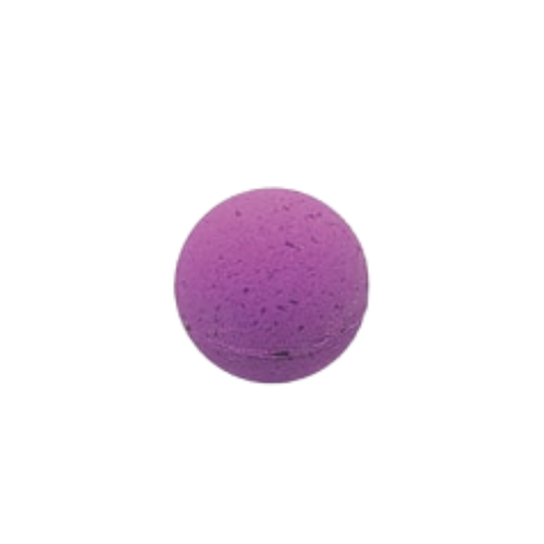 """Lavender Petals – Bath Bomb: Ooh La La Lavender Petals to soak and sooth, pamper and relax in luxurious moments, just for you. Enjoy the aromatherapy benefits and refresh your mind, body, and spirit.  Includes:  1-5oz 2.25"""" Diameter bath bomb  Ingredients: Sodium Bicarbonate, Citric Acid, Epsom Salt, Coconut Oil, Fragrance, Aqua, Polysorbate 80, FD&C Colorant."""