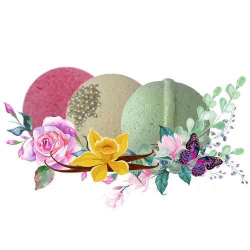 """Pamper Me - Bath Bomb Collection: An invigorating 3 pack Sugar Rose, Vanilla Caramel Cream and Eucalyptus Spa. Enjoy the aromatherapy benefits and refresh your mind, body, and spirit.  Includes the following bath bombs:  1-5oz 2.25"""" Diameter Sugar Rose 1-5oz 2.25"""" Diameter Vanilla Caramel Cream 1-5oz 2.25"""" Diameter Eucalyptus Spa  Ingredients: Sodium Bicarbonate, Citric Acid, Epsom Salt, Coconut Oil, Fragrance, Aqua, Polysorbate 80, FD&C Colorant."""
