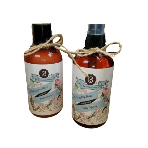 8 oz body lotion & body spray