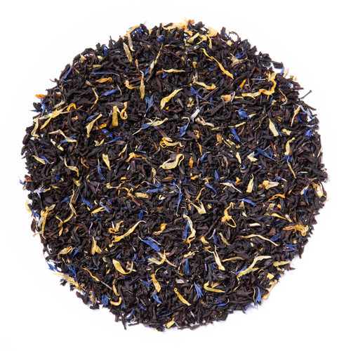 Earl Grey Cream (Loose Leaf) combines our full-bodied organic black tea with creamy vanilla essence.  Ingredients: All organic black tea, calendula flowers, corn flowers and natural flavor  Taste: Earl Grey Cream (Loose Leaf) is a robust black tea brew with a smooth, vanilla finish.  Origin: Organic black tea is sourced from family tea gardens in the Darjeeling and Assam regions of India.