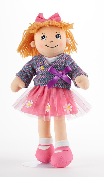 """14"""" Apple Dumplin Doll Purple Love: She's ready to play and cute as a button. She love's Tea Parties too. A perfect tea party companion!  She's just waiting to be invited to Tea!  Includes:  1-14"""" Apple Dumplin Doll"""