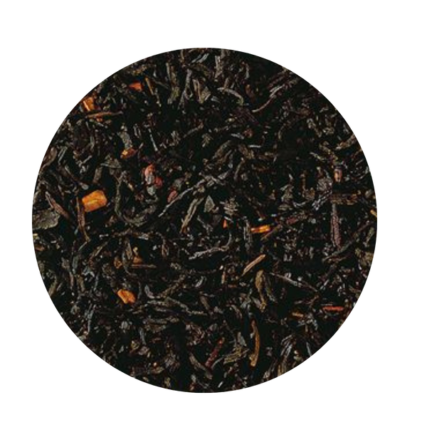Winter's Morning - Cinnamon Roll Black Tea (Loose Leaf) An old time classic, which just must be part of any standard, and of course, any Christmas assortment.  Taste: The strong China Ceylon blend, enriched with crushed cinnamon pieces from Ceylon receives its perfectly balanced taste through our expressive cinnamon flavor. Quite simple and perfect. Ingredients: black tea (90 %), cinnamon pieces, flavoring Add a scoop of homemade whipped cream or frothed milk topping and an extra dash of cinnamon on top, enjoy!   Homemade Whipped Cream Recipe:  2/3 cup heavy cream 1/2 teaspoon pure vanilla extract 2 tablespoons confectioners' sugar Dash of Cinnamon to taste  Whip the heavy cream in the bowl of an electric mixer fitted with the whisk attachment on medium speed until soft peaks form, 2 to 4 minutes. Add the vanilla and confectioners' sugar; continue whipping on medium speed until the soft peaks return, 2 to 3 minutes. Use immediately.    Frothed Milk secret:  If you prefer a frothed milk topping here are a few tips we found from our test kitchens Use skim milk for the fluffiest, creamiest, quickest frothed milk topping.  Add a drop or two of vanilla, or almond flavoring before frothing.  Enjoy your Tea!