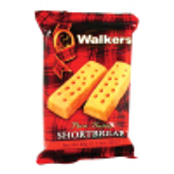 1.4 oz. - Walkers' Shortbread Finger Cookies (2 pk): A tradition in the Cornucopia Tea Shop and must have with a spot of tea. Extra buttery goodness in every bite!Kosher Free with a purchase of any 1 oz or more loose leaf tea.