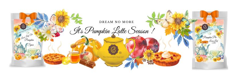 Pumpkin Latte Teas, Fall Tea Gifts, Apple Cider Tea , fall teas, fall loose leaf teas