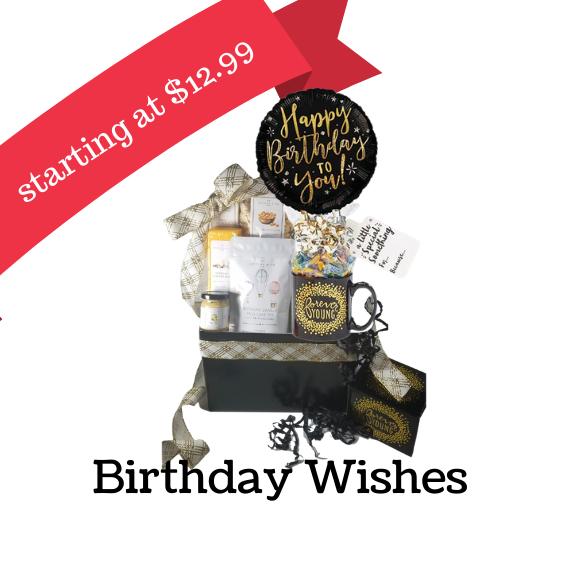 Birhtday gift basket, Over the Hill gift baskets, kids birthday gift baskets