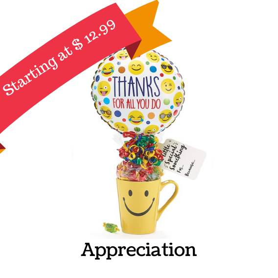 Thank you gift baskets, Appreciation gift basket, Administrative Professionals gifts