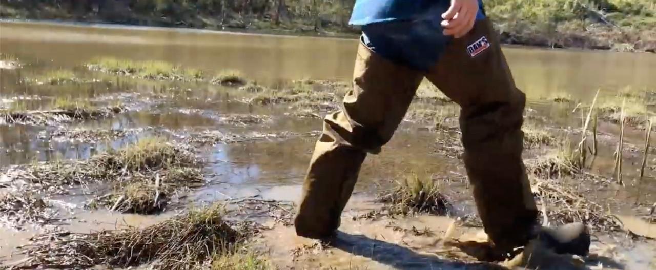 Froglegs (hip waders)