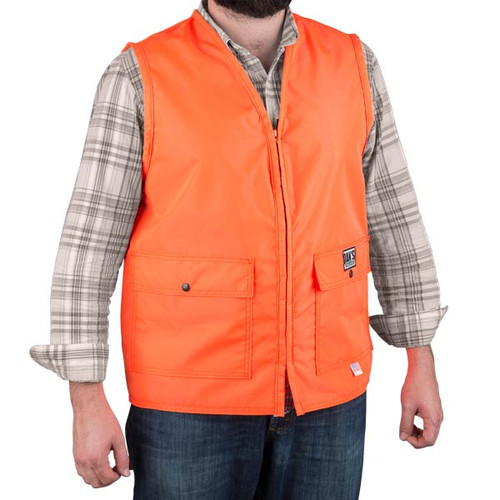 Heavy Duty Blaze Orange Vest by Dan's Hunting Gear® | Briarproof Super Store