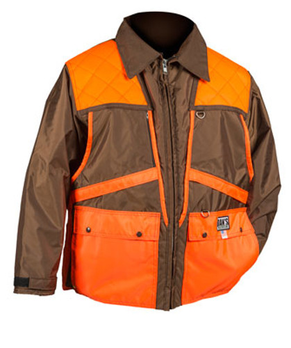 Brown and Orange Briarproof Game Coat by Dan's Hunting Gear | Briarproof Super Store