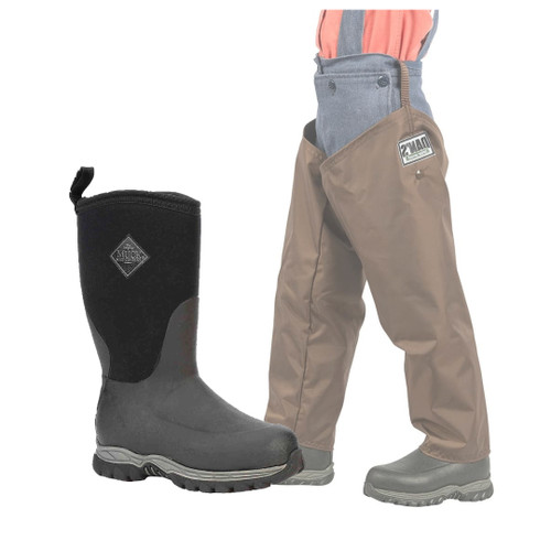 Kid's Froglegs with Muck Rugged II Boots by Dan's Hunting Gear | Briarproof Super Store