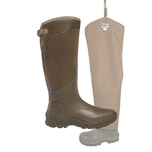 Agility Sport Snake Boot with Snake Protector Chaps by Dan's Hunting Gear