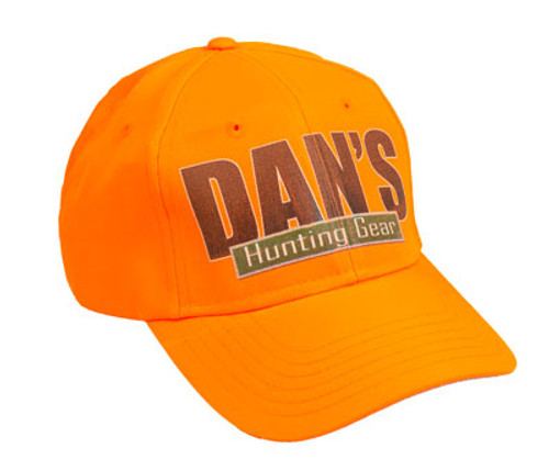 Dan's Briarproof Logo Orange Cap | Briarproof Super store