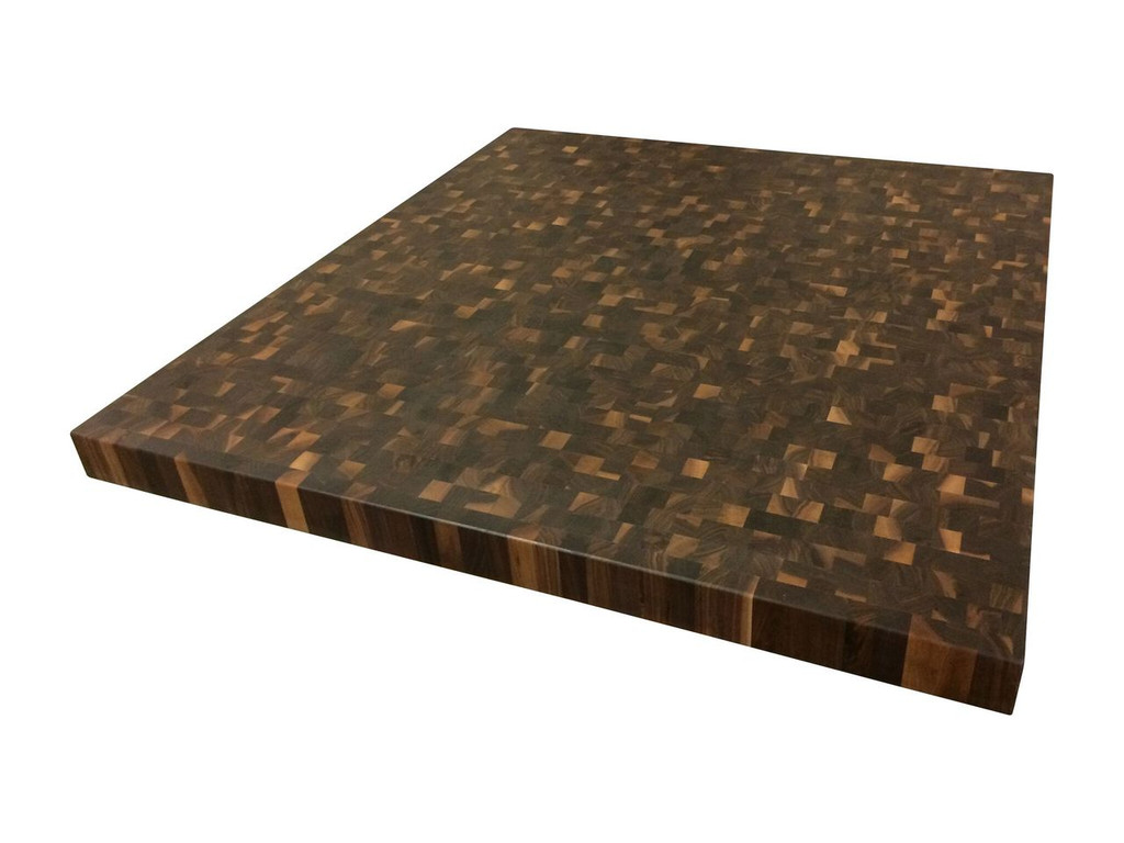 Rustic Walnut End Grain Chef's Block