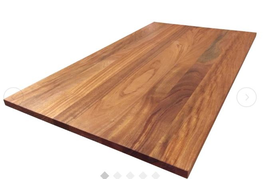 Custom Listing 09/09/2019 - African Mahogany Wide Plank Countertops - 50% Balance