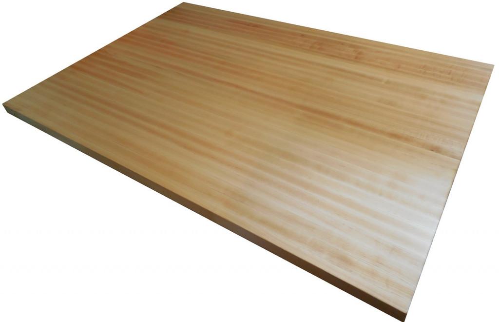 "Edge Grain Hard ""Rock"" Maple Island Top by Armani Fine Woodworking"
