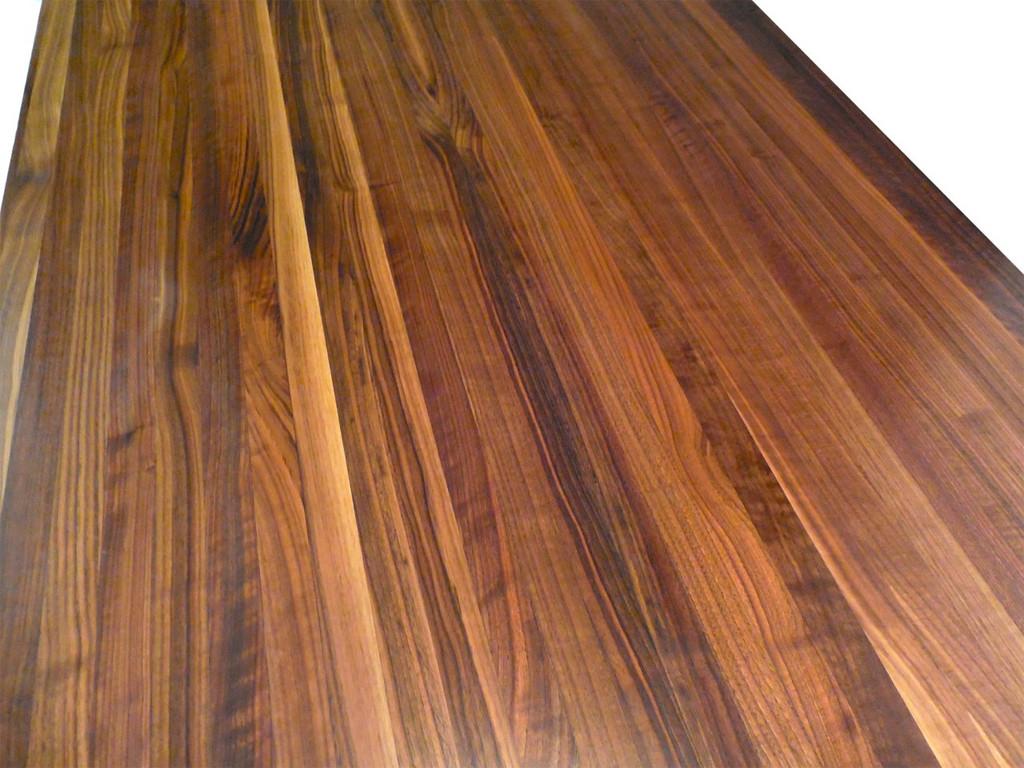 Edge Grain Walnut Countertop by Armani Fine Woodworking
