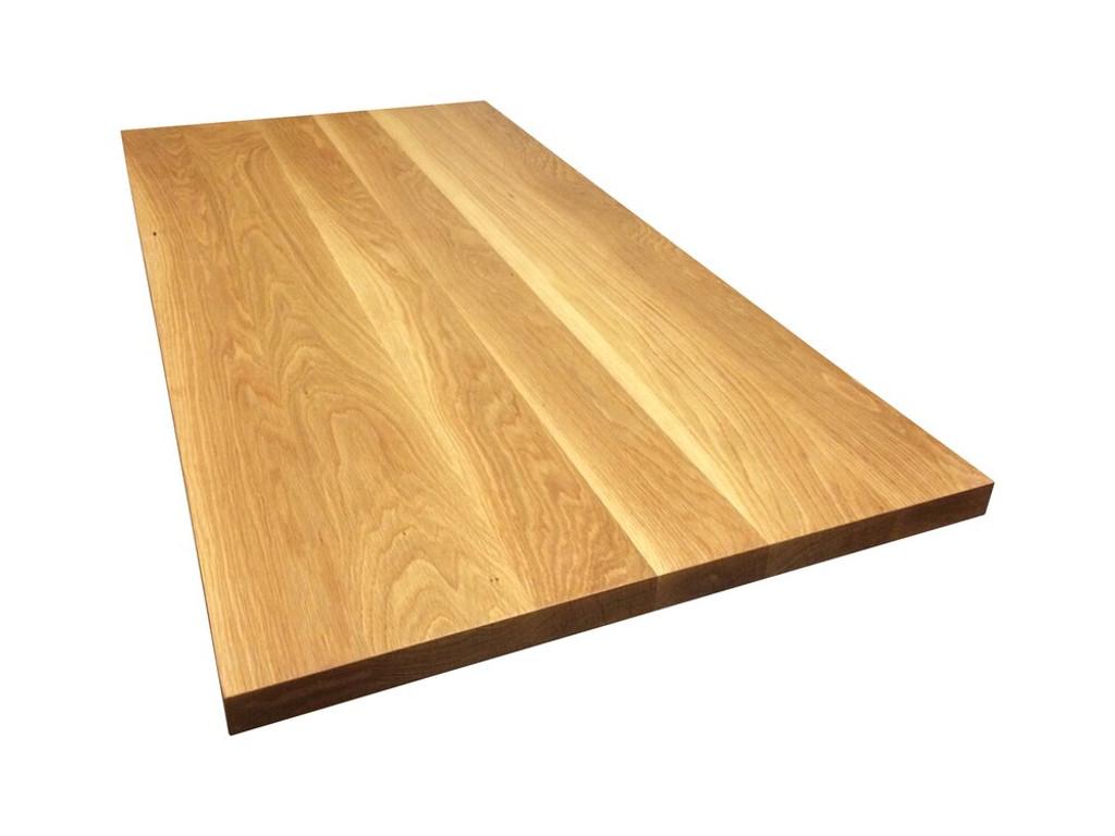 Custom Listing 4/30/20: White Oak Desk Top - Perpendicular