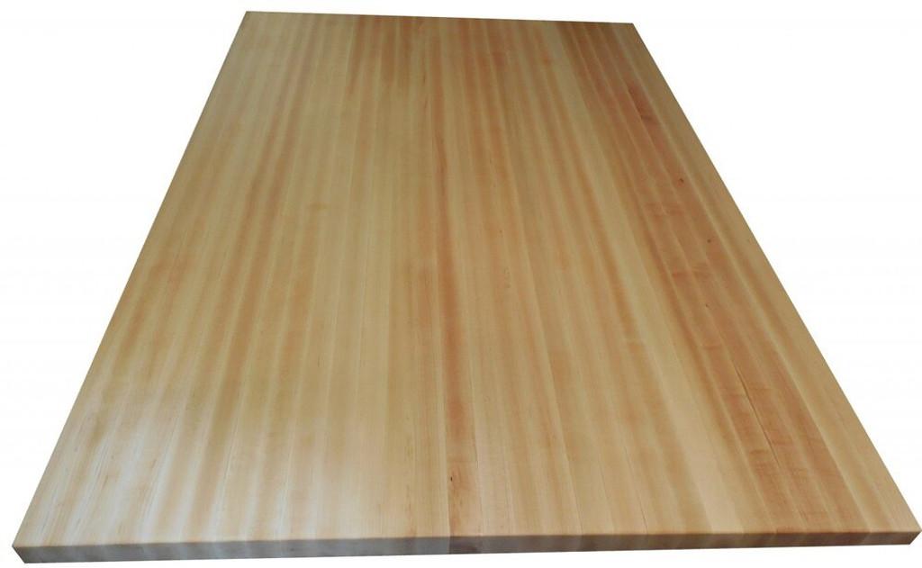 Custom Listing - Don Cox - Maple Butcher Block Countertop (Left)
