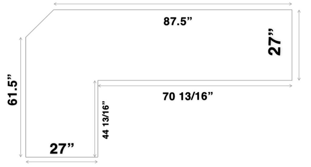 Custom Listing - Sadey Tavares - Walnut Countertop (2)