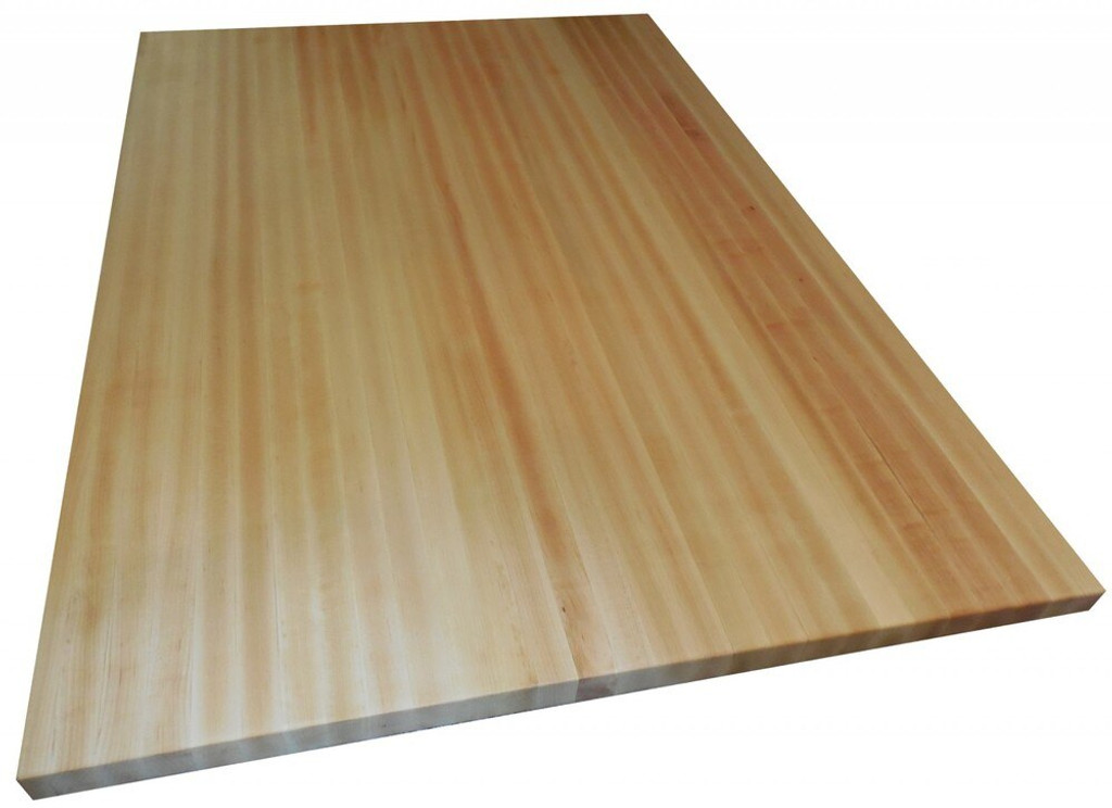 Custom Listing - Don Cox - Curved Maple Butcher Block Countertop