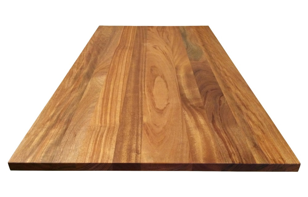 Custom Listing - Lisa Bedson - African Mahogany Wide Plank Countertop (Back Wall)