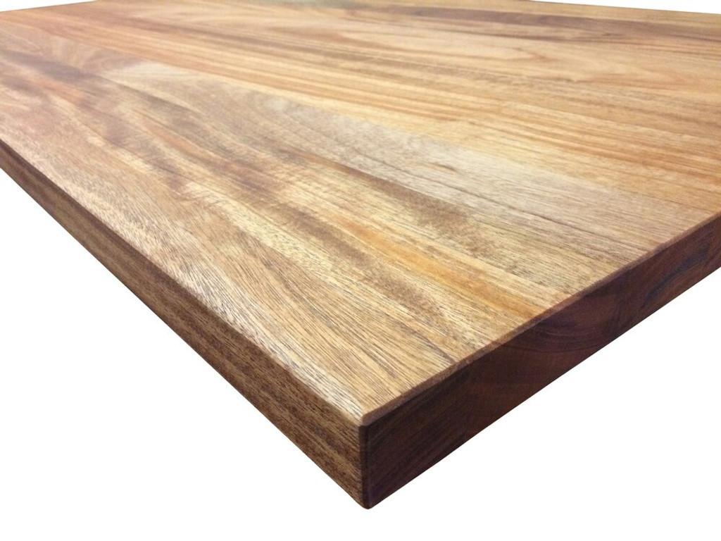 Custom Listing - Timothy Crawford - African Mahogany Wide Plank Desktop (Long Wall Piece)