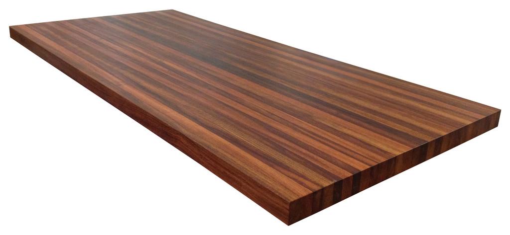 Brazilian Cherry Butcher Block Countertop by Armani Fine Woodworking