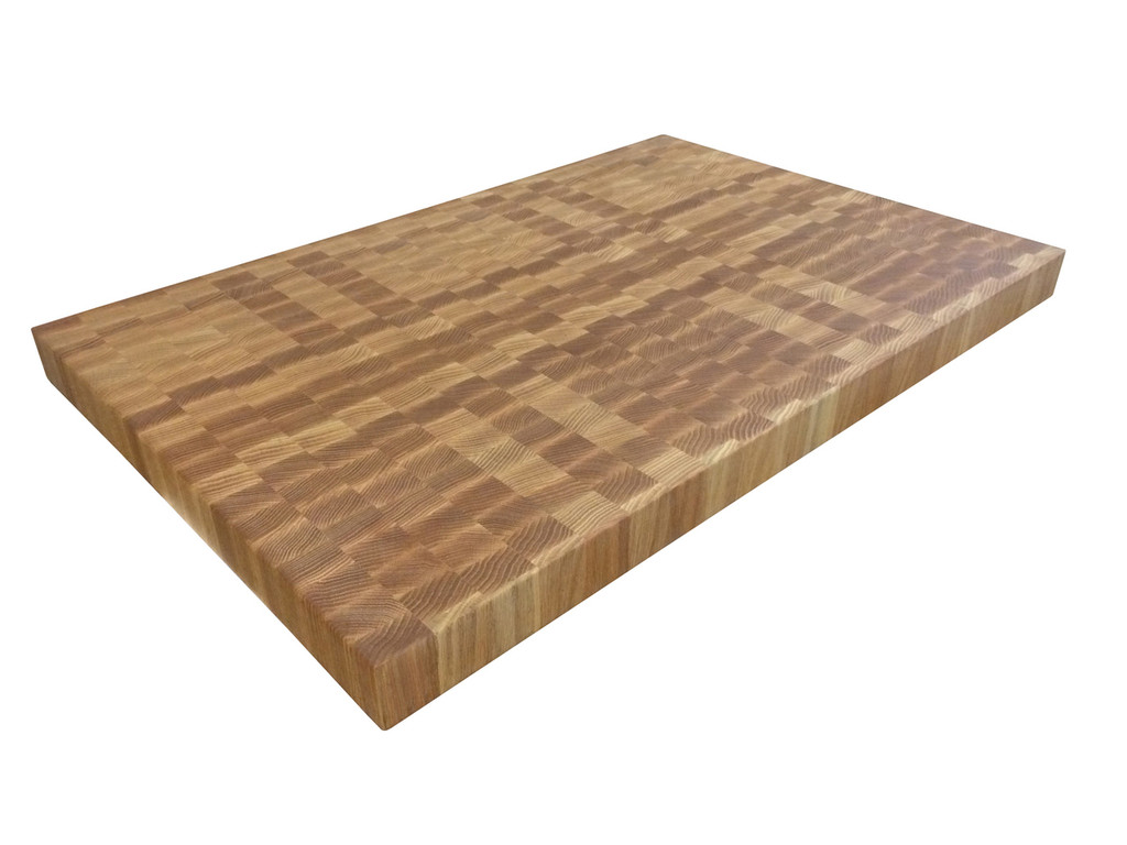 End Grain Red Oak Butcher Block Countertop