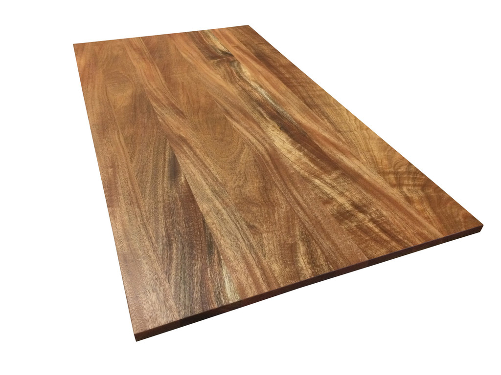 Wood Tabletop: African Mahogany