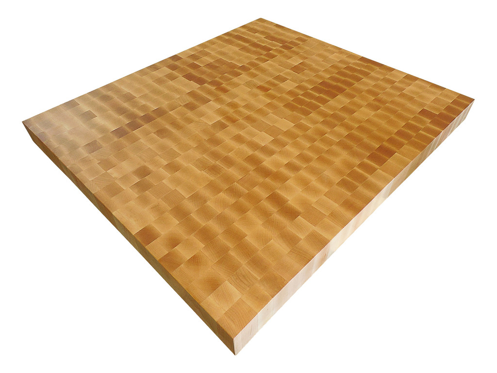 End Grain Hard Rock Maple Butcher Block Countertop