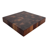Rustic Walnut End Grain Butcher Block Cutting Board