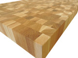End Grain Hickory Countertop