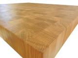 White Oak End Grain Countertop