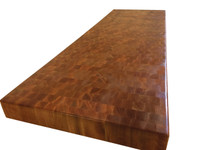End Grain Cherry Kitchen Island top