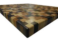 End Grain Butcher Block Countertop - Brickwork