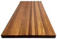 Edge Grain African Mahogany Island Top by Armani Fine Woodworking